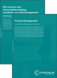 Voorkant whitepaper ISO+Privacy Mngt